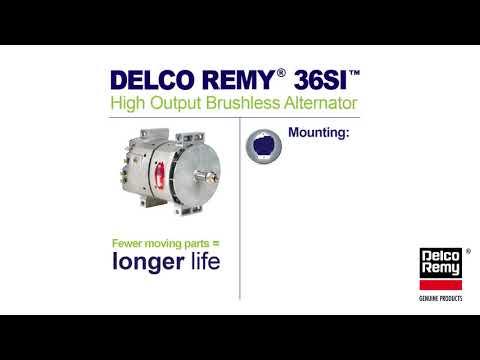 36si heavy duty alternator infographic   borgwarner delco remy genuine  products - youtube