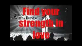 Whitney Houston Greatest Love Of All with Lyrics by Jr