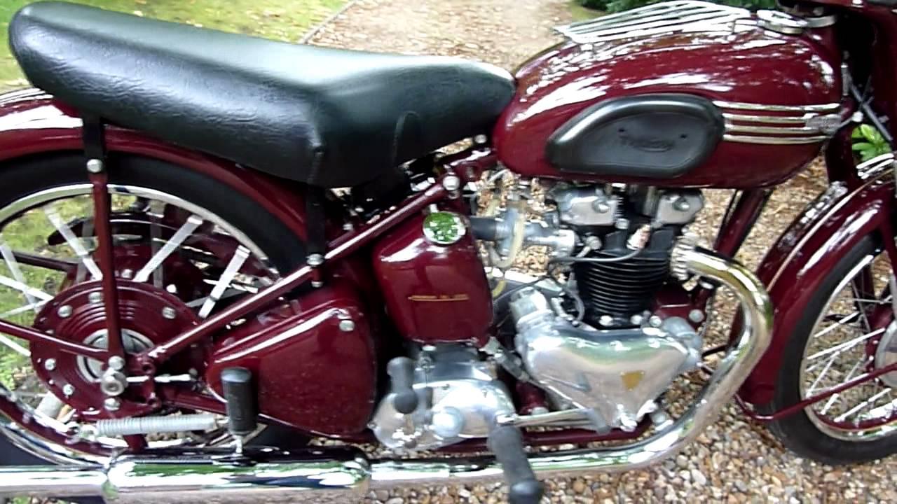 Triumph Speedtwin 1952 Mts