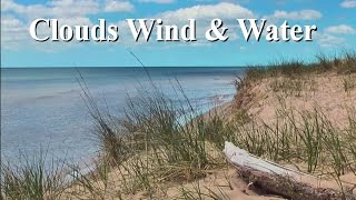 """Clouds, Wind & Water"" filmed at Lake Michigan, WI - Original Poetry: Elizabeth Martina Bishop"