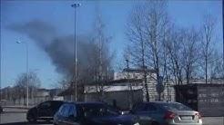 15.3.-Tulipalot samanaikaisesti Vantaalla sekä Helsingissä