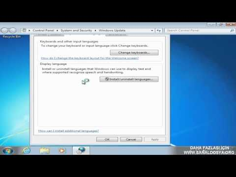 Windows 7 Türkçe Dil Paketi Kurulumu - Türkçe Dil Paketi Yükleme