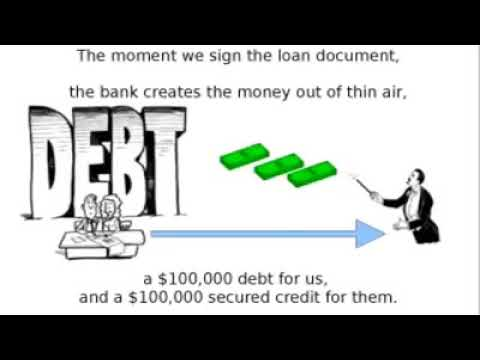 the banking system is a fraud