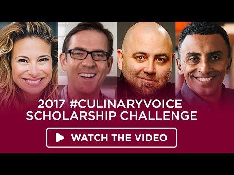 2017 #CulinaryVoice Scholarship Challenge