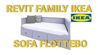 Revit Family Ikea Hemnes Bed 3d Model