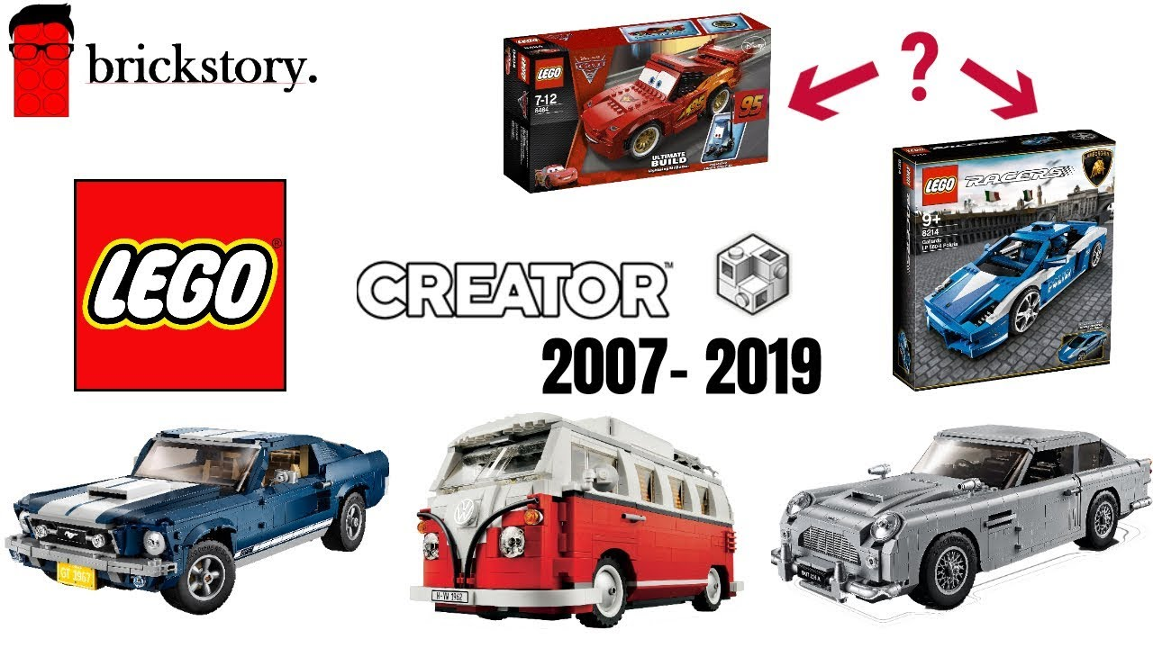 Alle Lego Creator Expert Autos 2007 2019 Mit 10265 Ford Mustang Brickstory