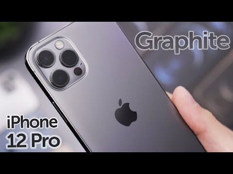 Graphite iPhone 12 Pro Unboxing & First Impressions!