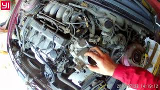 Чистка дроссельной заслонки Mazda 626 GE 1,8 л 90 л с