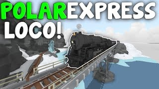 POLAR EXPRESS  -  Toy Train Simulator Rolling Line VR  -  Map