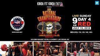 USPA National Powerlifting Championships   Day 4 - Red Platform