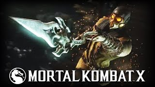 Mortal Kombat X: Kold War Scorpion Skin Gameplay Trailer!