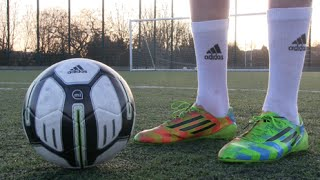 adidas miCoach SMART BALL - Free kicks & Skills | Footballskills98