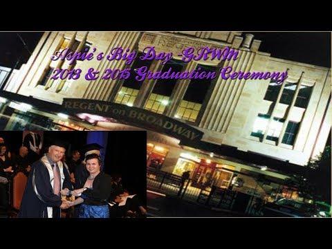 Aspie's Big Day GRWM/Graduation Ceremony 2013 & 2015//AspieAnswersAll