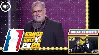 Doblaje alternativo de BENITO ZAMBRANO en Los Goya 2020 de Grison y Caravaca | GAYOS GOLFXS