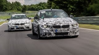 Dtm Race Drivers Test The 2014 Bmw M3 And Bmw M4 At The Nurburgring: Official Video