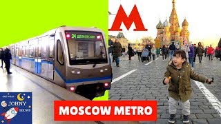 Trains For Kids Moscow Subway Metro Train Ride To Red Square