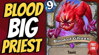 oh no no no... BIG BLOOD PRIEST might just be a thing... | Darkmoon Faire | Hearthstone