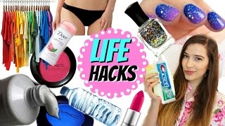 10 LIFE HACKS All Girls Need to Know!!!