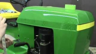 installing decals on the 111 JD 4 2 2012