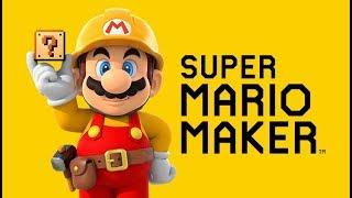 Super Mario Maker (Wii U) - Live Stream 1