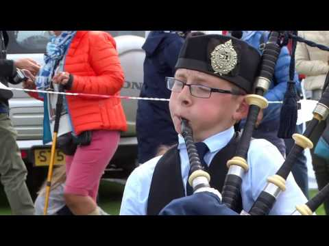 Solo Bagpipes Competition Highland Games St Andrews Fife Scotland