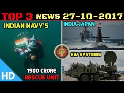 Indian Defence Updates : Indian Navy Submarine Rescue Systems, Indian Army EW System, India Japan