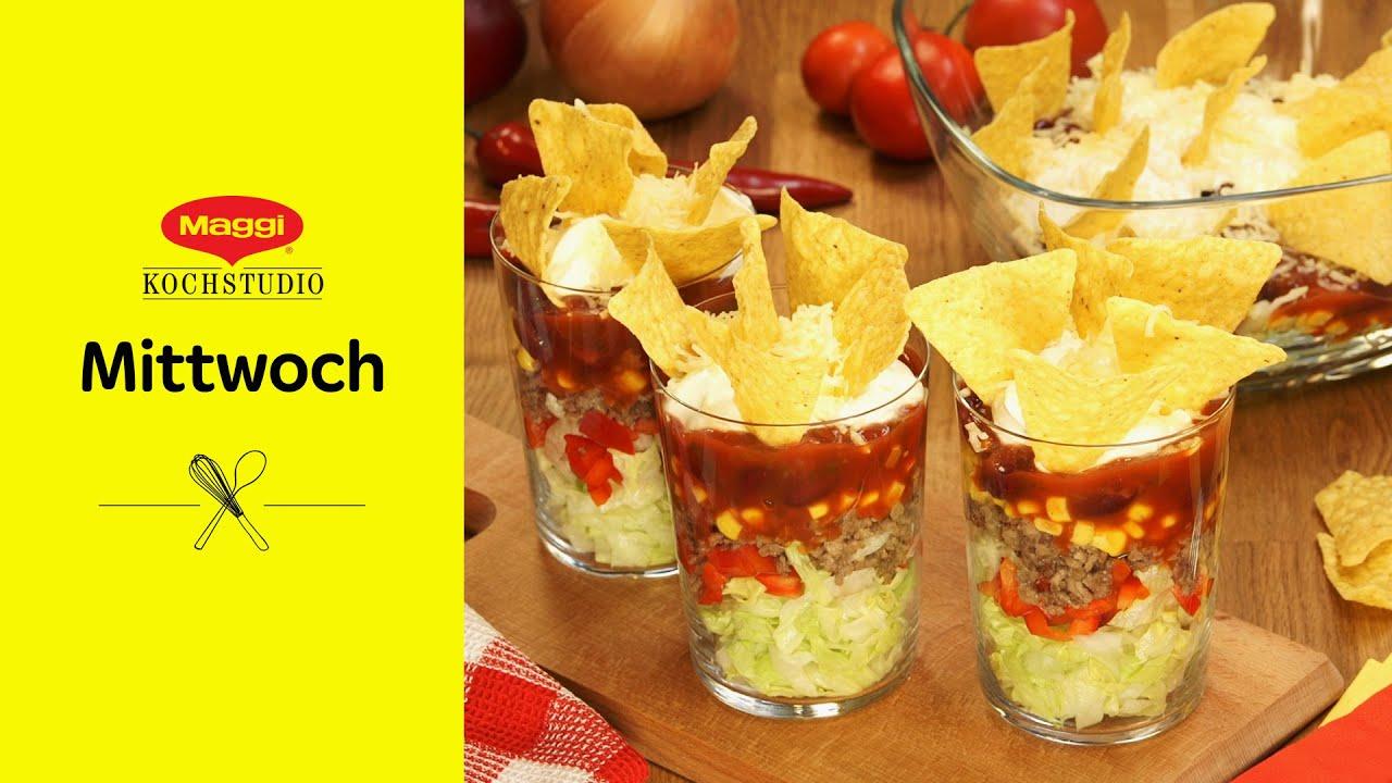 Taco Salat Rezept Maggi Mittwoch Youtube