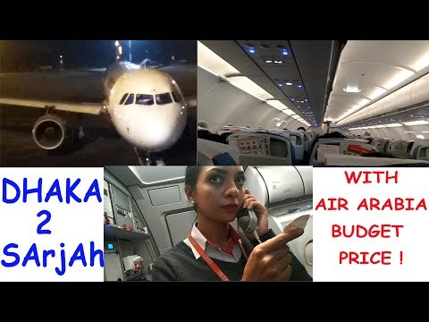 Dhaka To Sarjah With Air Arabia| Best Budget Airlines A320 Airbus | Travel With MD Vlog - 1