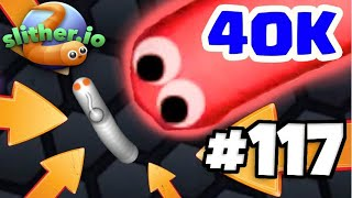 40K+ SLITHER.IO TAKEDOWN GAMEPLAY - Slitherio Best Moments Montage