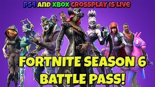 FORTNITE SEASON 6 BATTLE PASS & PETS   NEW MAP CHANGES AND LOCATIONS   WEEK 1 CHALLENGES