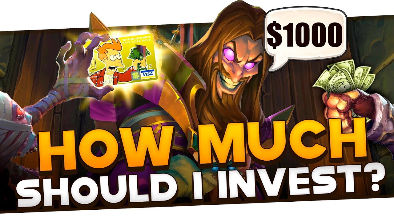How Much Do YOU Need To Spend in Hearthstone Throughout the Year?