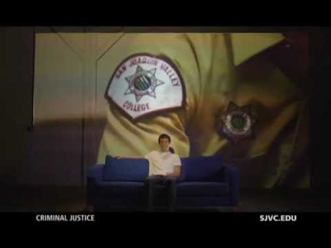 Criminal Justice at SJVC - Couch TV Commerical