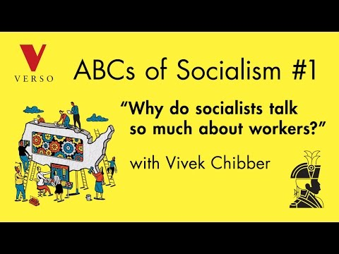 """Why Do Socialists Talk So Much About Workers?"" with Vivek Chibber"