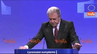 IMMIGRAZIONE, RIVEDERE GLI ACCORDI DI DUBLINO - COMMISSIONE EUROPEA