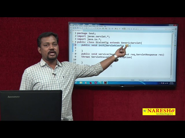 Servlet Tutorial | ServletConfig and Init param Part-7 | Advanced Java | Mr.Venkatesh