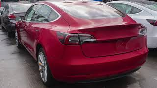Tesla Model 3 After an Accident