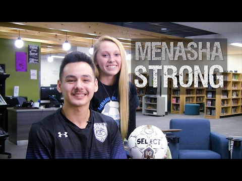 Menasha Strong, with Bailey Augustine and Ricky Gomez