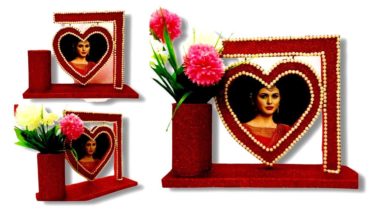 How To Make Love Photo Frames Diy Handmade Decoration Ideas At