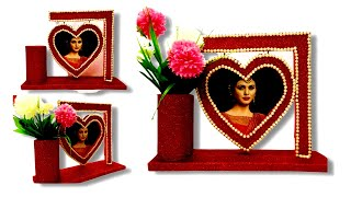 How to Make Love Photo Frames - Diy Handmade decoration ideas at Home