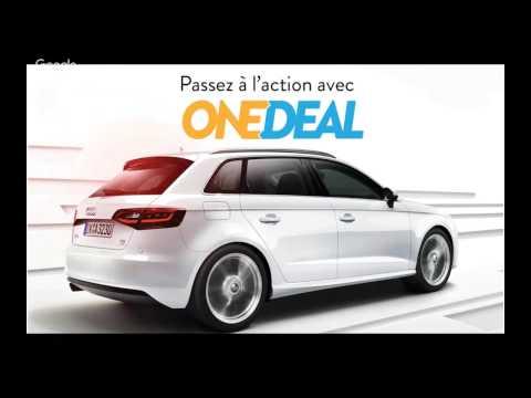 Business one deal sur la vente de voiture d'occasion