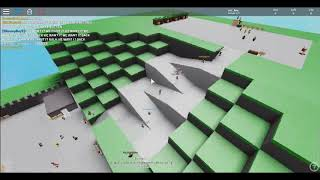Starting a riot in prtty much evry border game evr (Fake version) Roblox
