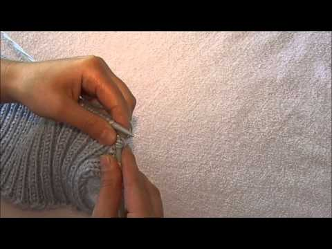 видео: Женский жилет спицами ( спинка , основной рисунок )