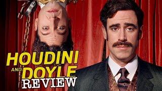Michael Weston Stephen Mangan Rebecca Liddiard in Houdini & Doyle - TV Review