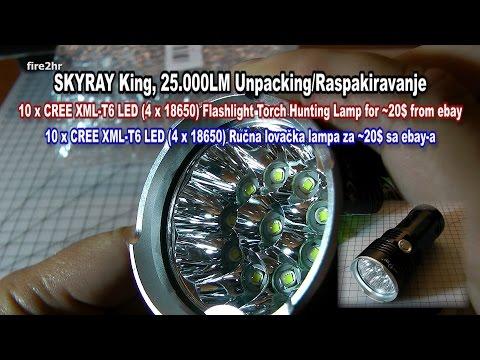 28000 Lumens Flashlight VS Truck Headlights