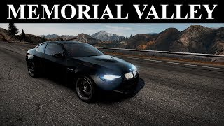 NFS Hot Pursuit 2010 Tracks - Memorial Valley (Racer)
