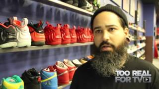Sneakerhead: Sneakers saved my life...Urban Necessities with Jaysee Lopez (A short Film by MAROY)