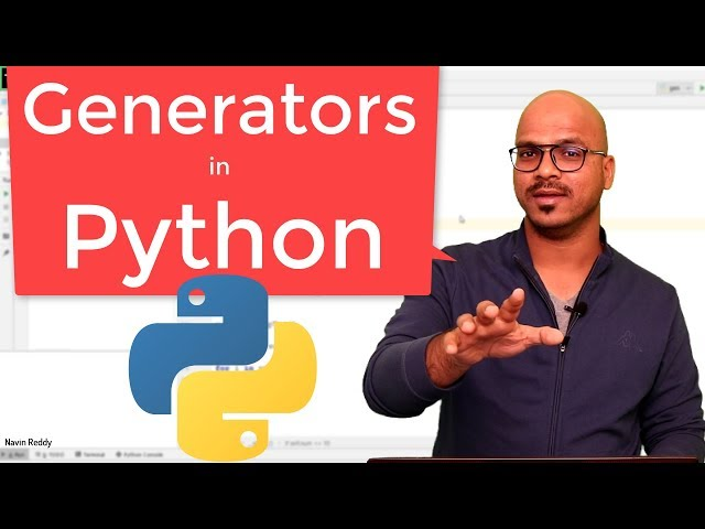 #62 Python Tutorial for Beginners | Generators