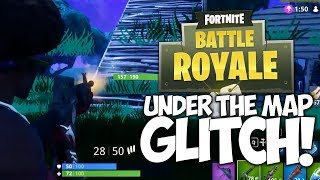 "SOUS LA CARTE GLITCH - EPIC LAST MAN BATTLE! ""Fortnite Battle Royale"""