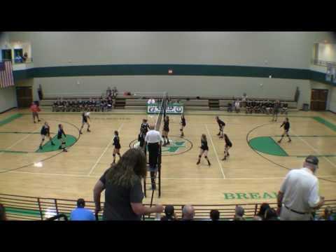 McCants Middle School Vollyball 2016-09-26 McCants vs Gettys