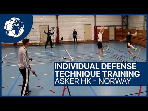 Individual Defense - Technique Training - Handballtraining Koprivica U15   Handball inspires